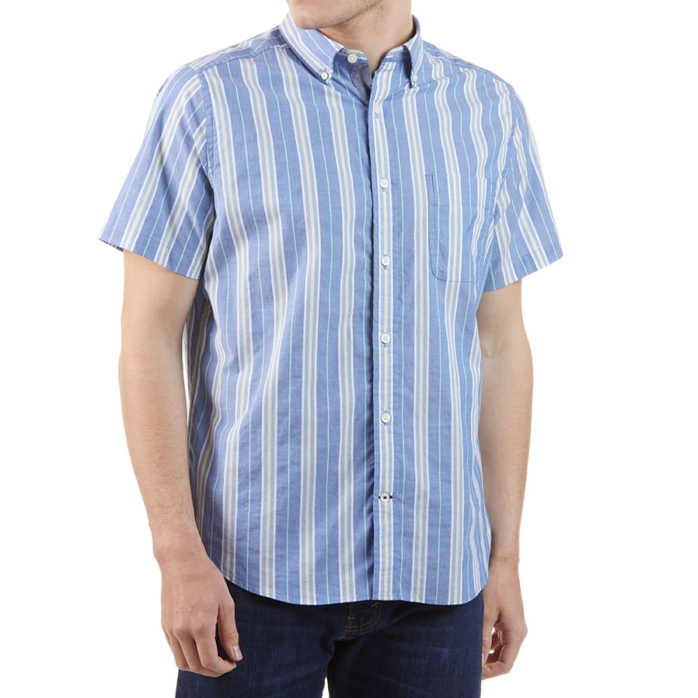 NAUTICA Men's Stretch Poplin Short-Sleeve Shirt XL