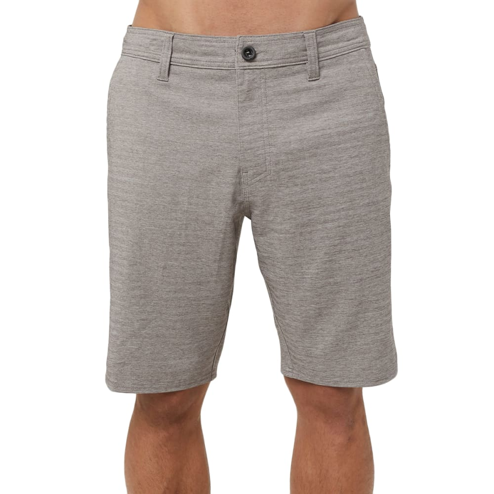 O'NEILL Men's Locked Heather Herringbone Hybrid Shorts 30