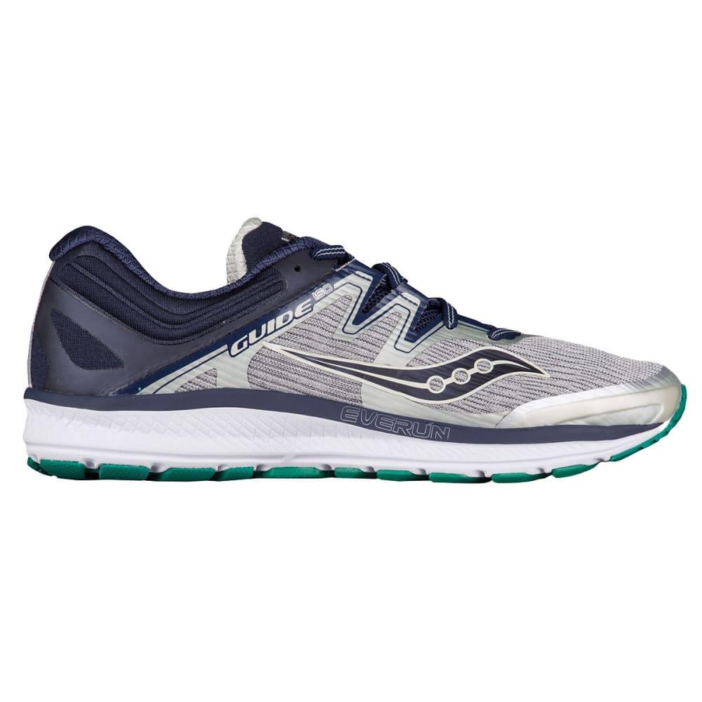 SAUCONY Men's Guide ISO Running Shoes - GREY/NAVY-1