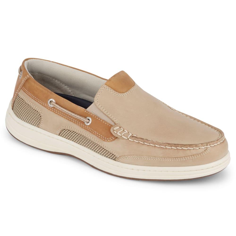 DOCKERS Men's Tiller Boat Shoe - DK TAN/TAUPE