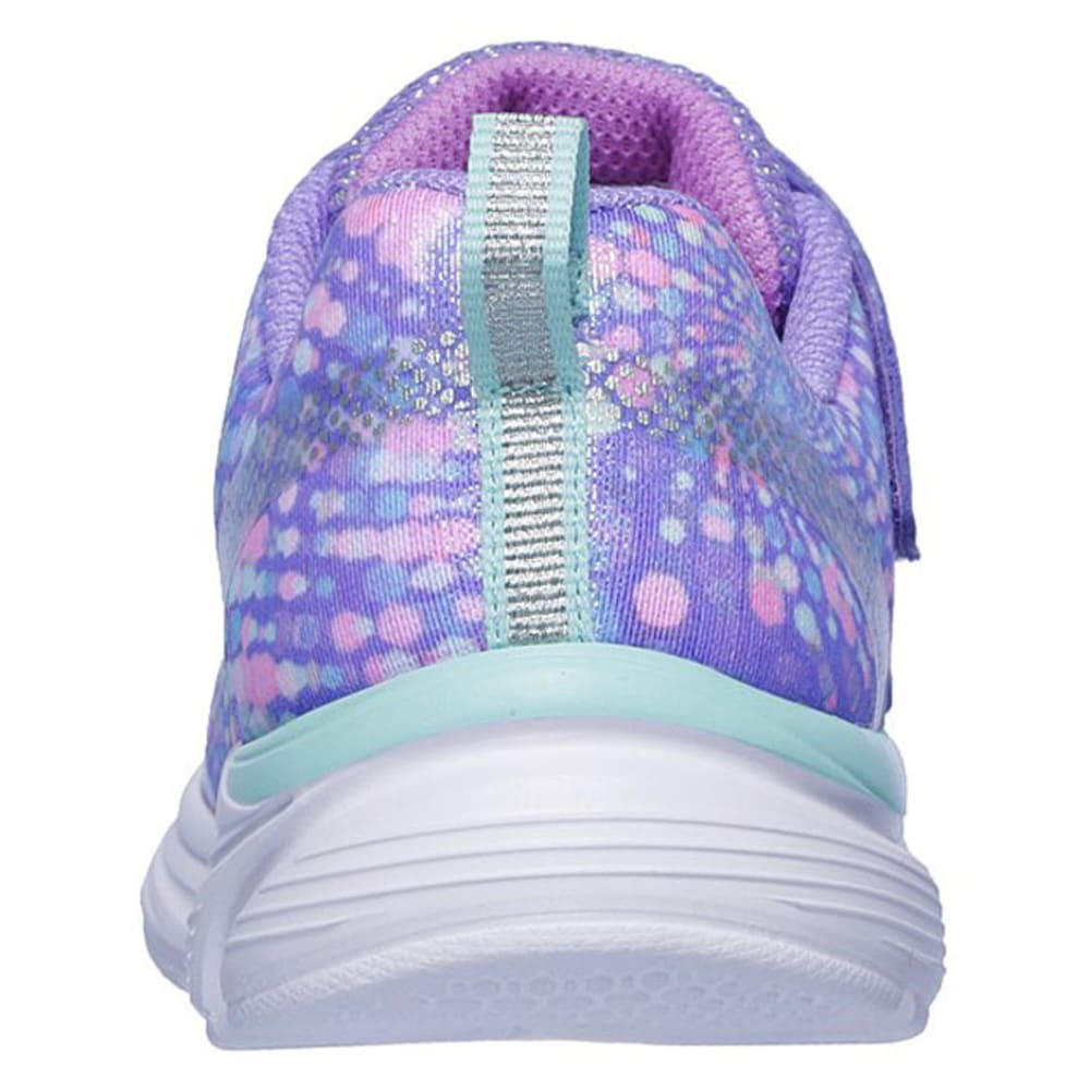 SKECHERS Little Girls Wavy Lites Sneaker - LAVENDER-LVMT