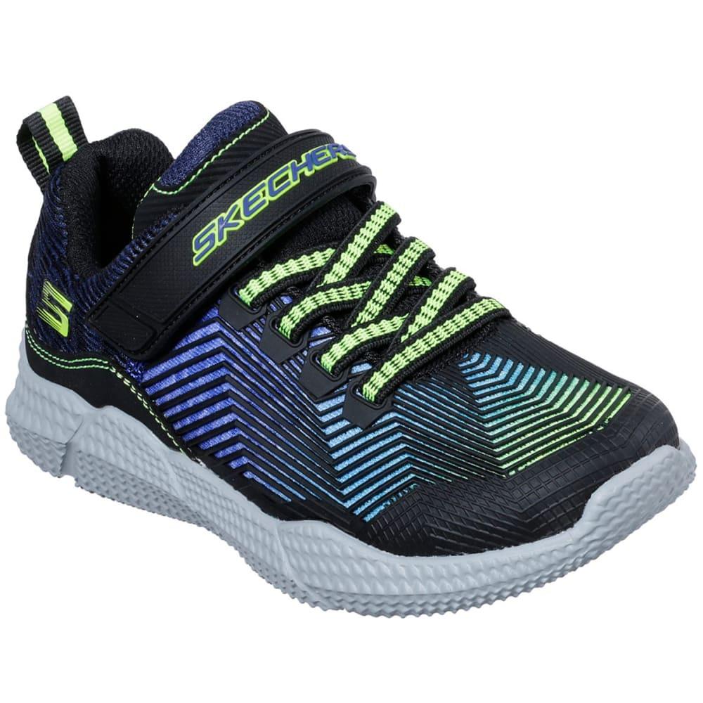 SKECHERS Boys' Intersectors Protofuel Sneaker - BLUE/LIME-BBLM