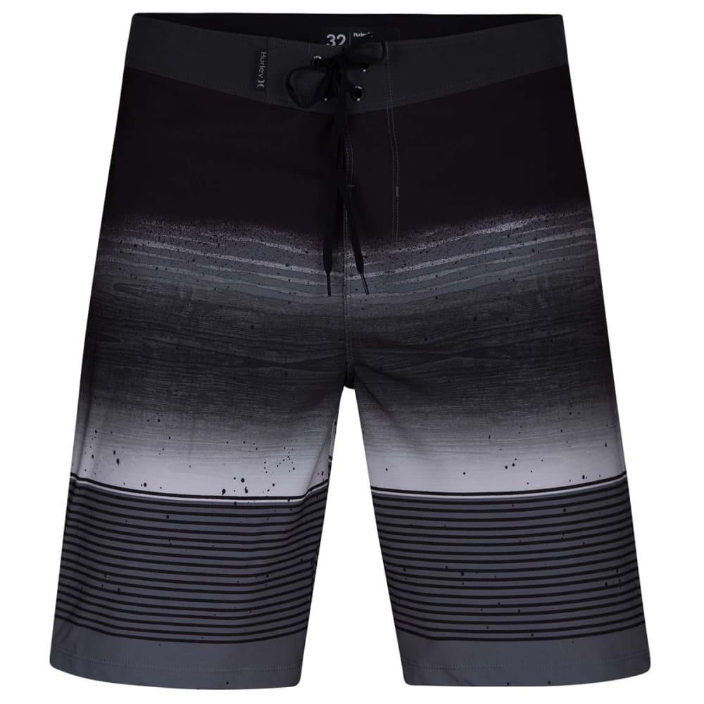 "Hurley Young Men's Phantom Overspray 20"" Board Shorts - Black, 30"