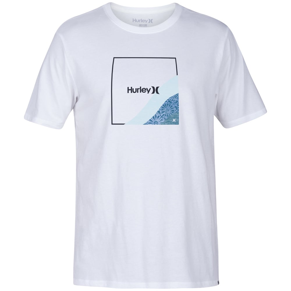 Hurley Young Men's Fader Short-Sleeve T-Shirt - White, S