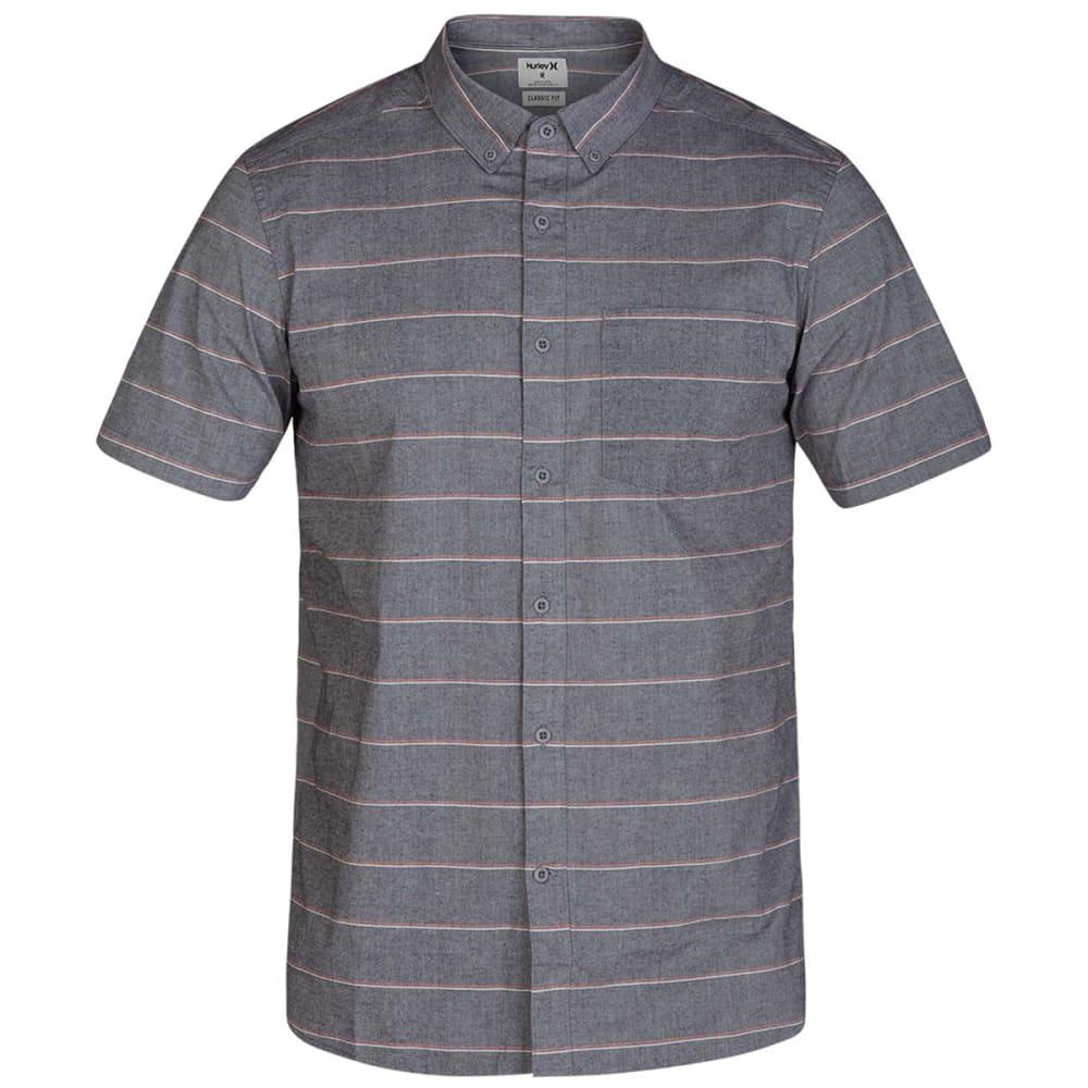 HURLEY Men's Keanu Short-Sleeve Shirt S