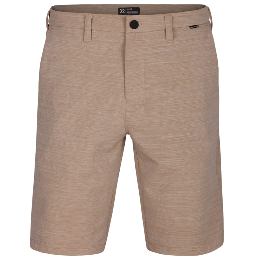 Hurley Young Men's Dri Fit Cut Back Shorts - Brown, 30