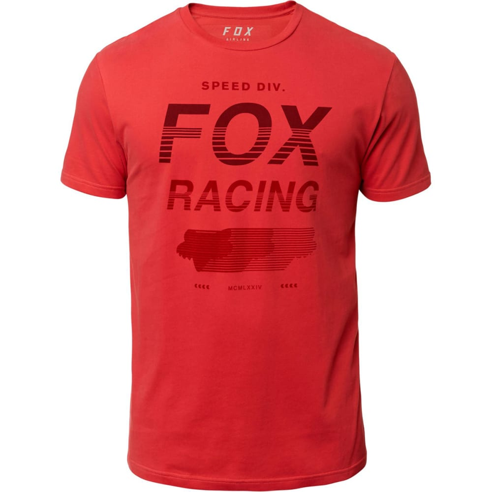 FOX Men's Ultimate Airline Short-Sleeve Graphic Tee S