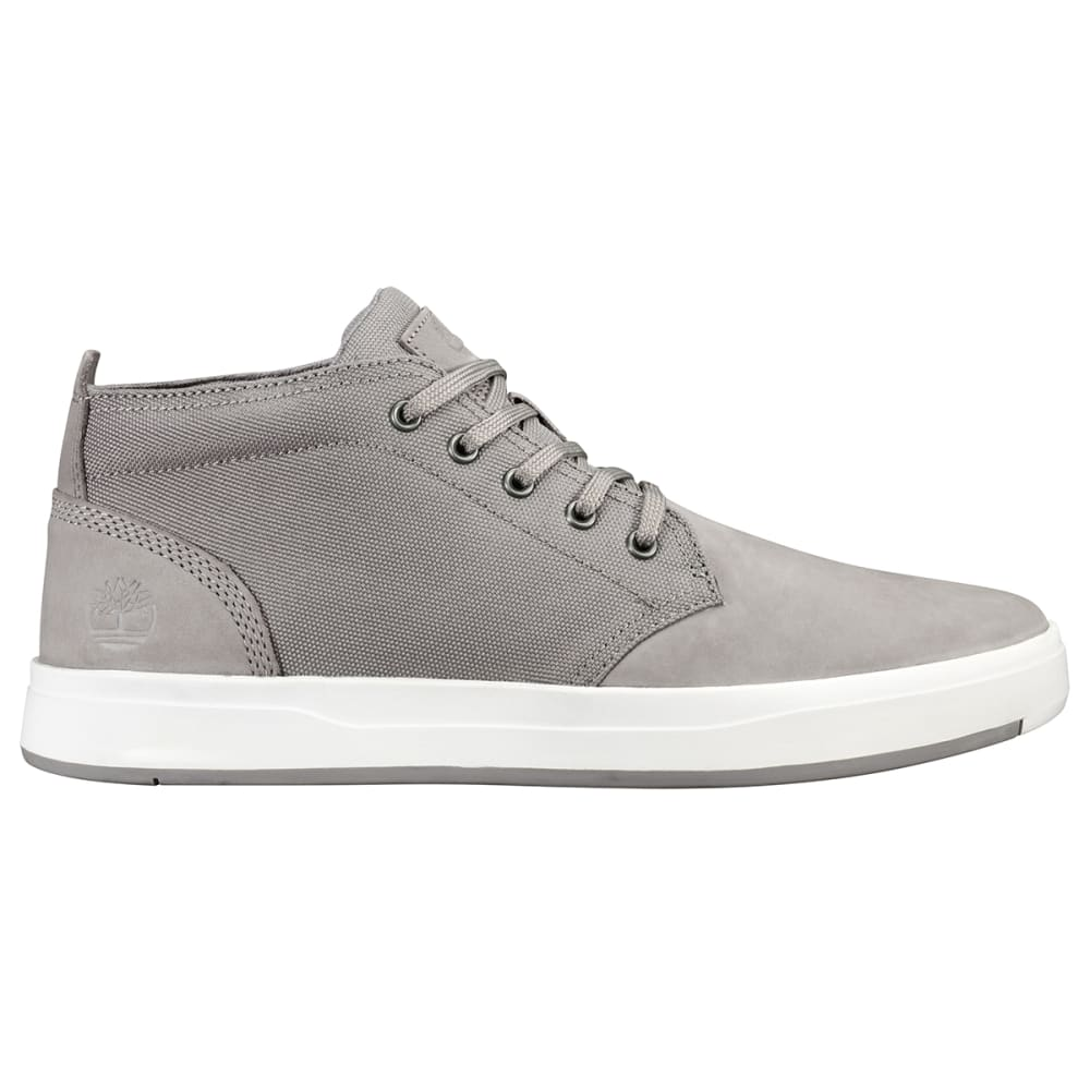 TIMBERLAND Men's Davis Square Boots - MED GREY