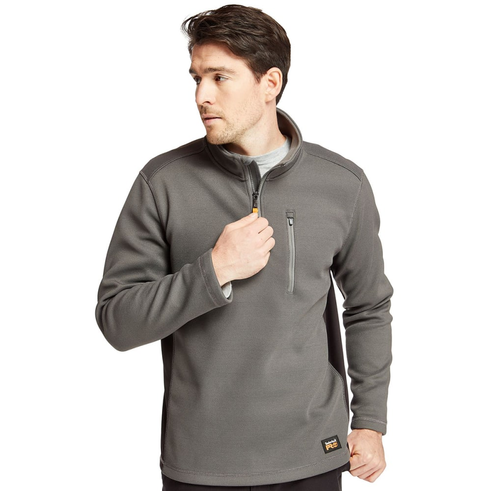 TIMBERLAND PRO Men's Studwall 1/4-Zip Textured Fleece Pullover M