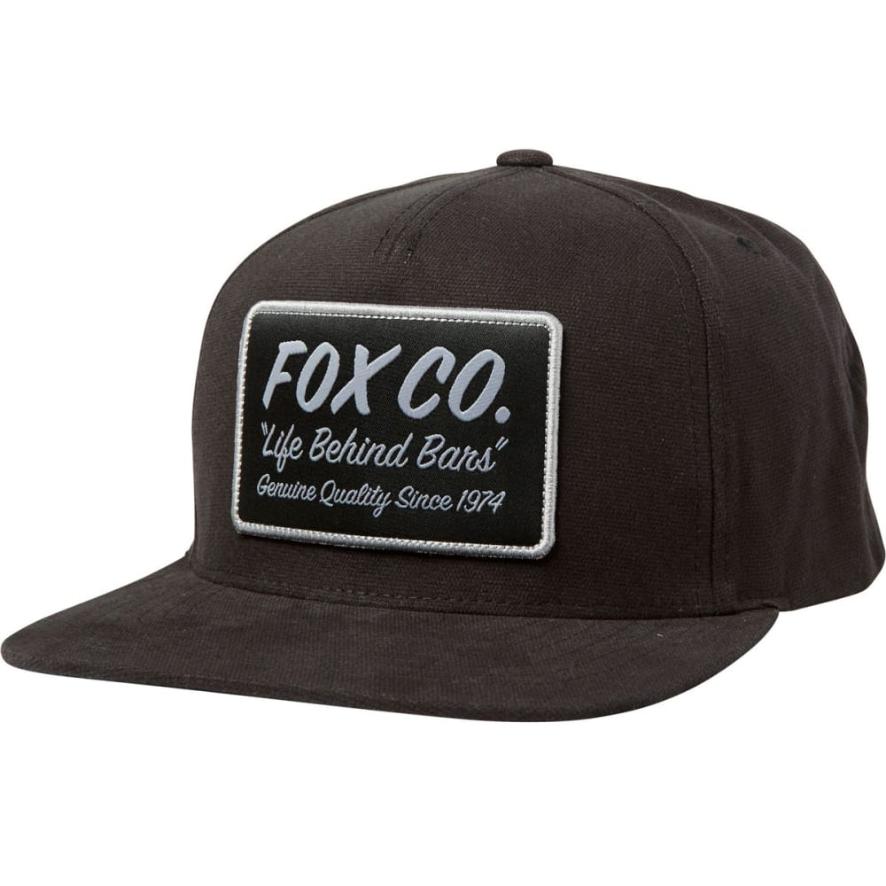 FOX Men's Resin Snap Back Hat 1SZ