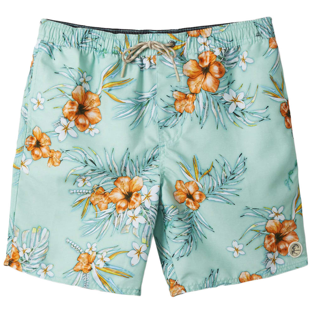 O'neill Men's Tropic Volley Short - Green, M