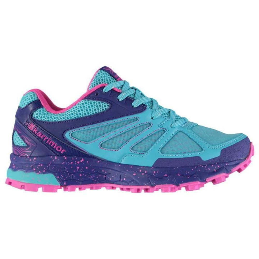 KARRIMOR Girls' Tempo 5 Trail Running Shoes - BLUE/PINK