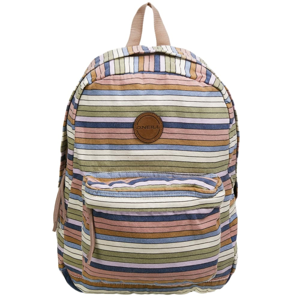 O'neill Women's Junior Blazin Stripe Backpack - Various Patterns, ONESIZE