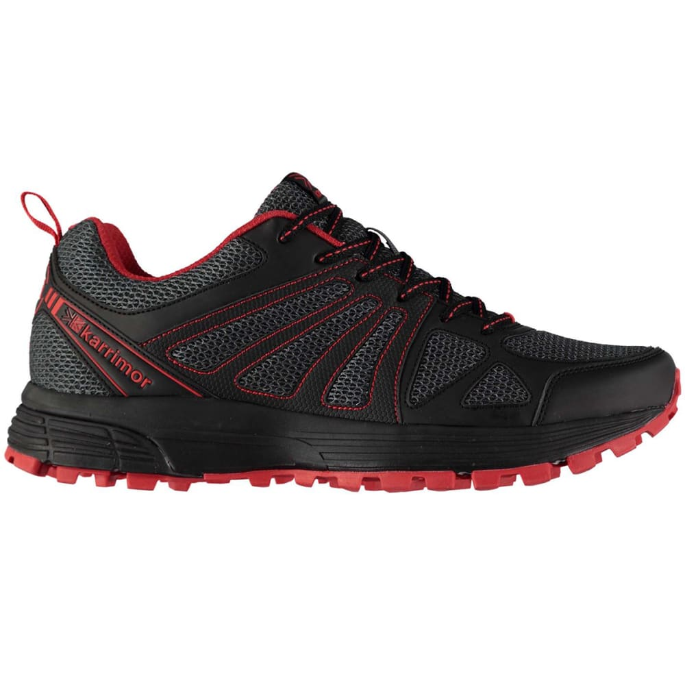 Karrimor Men's Caracal Trail Running Shoes - Black, 10