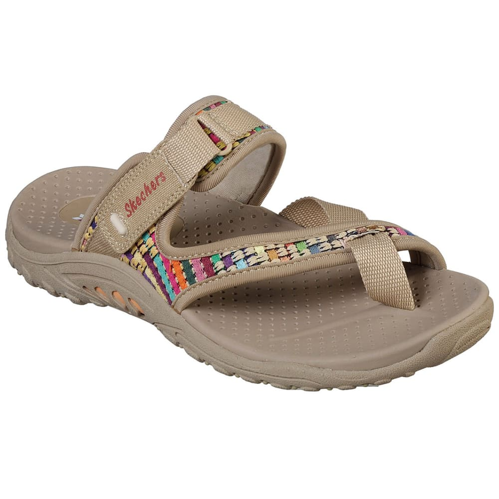 Skechers Women's Reggae Mad Swag Sandals - White, 8