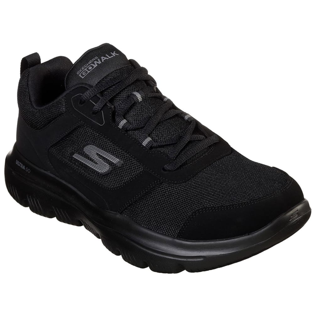 Skechers Men's Gowalk Evolution Ultra Enhance Walking Shoes - Black, 9