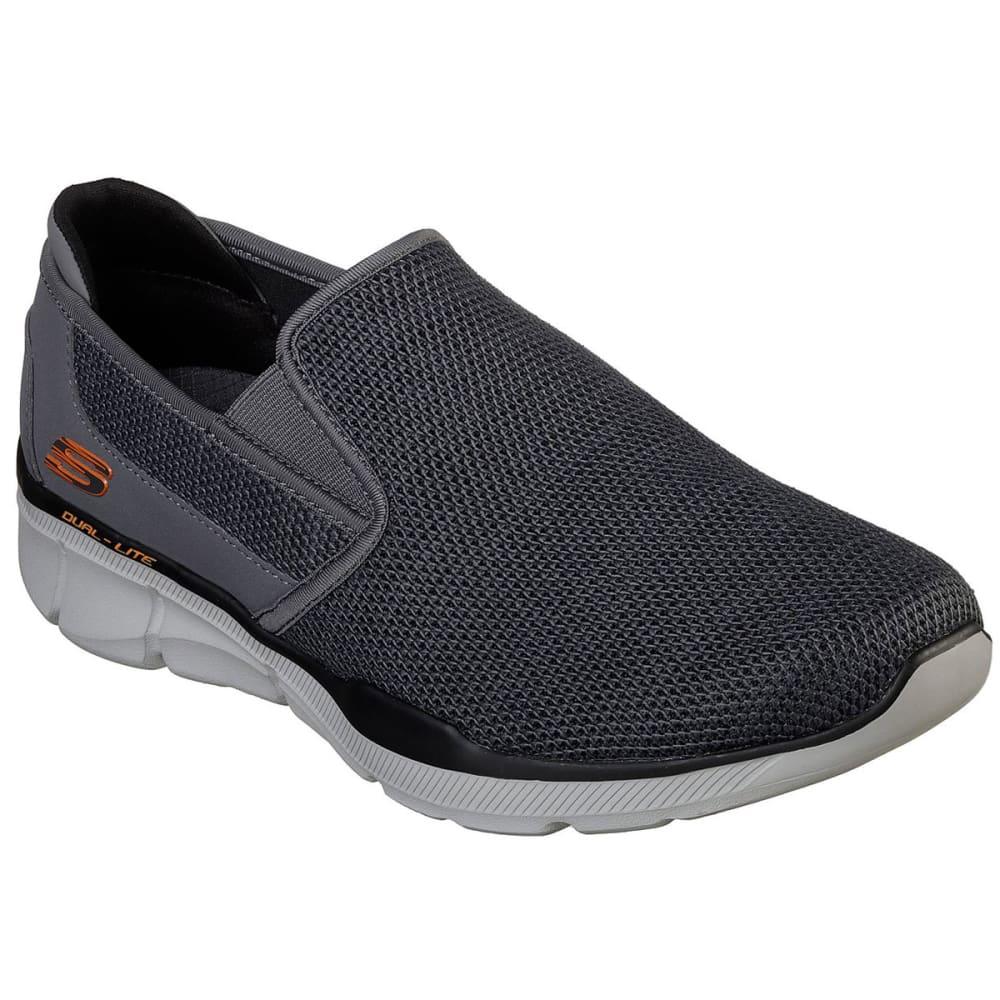 Skechers Men's Equalizer 3.0 Sumnin Slip On Shoes, Wide - Black, 9.5