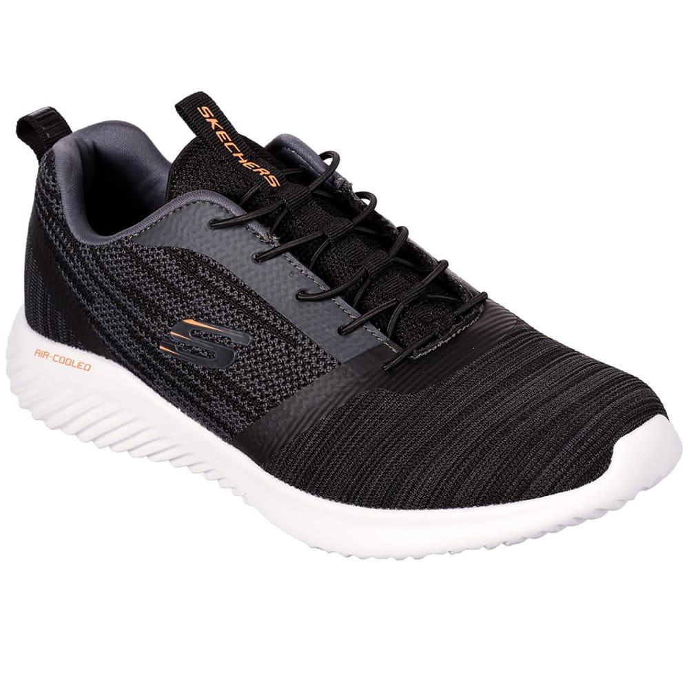 SKECHERS Men's Bounder Slip-On Bungee Lace Sneakers - BLACK-BLK