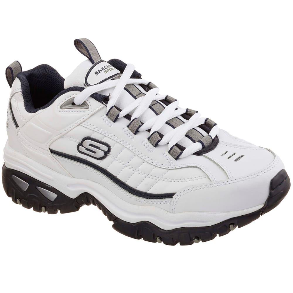 Skechers Men's Energy Afterburn Sneakers - White, 9