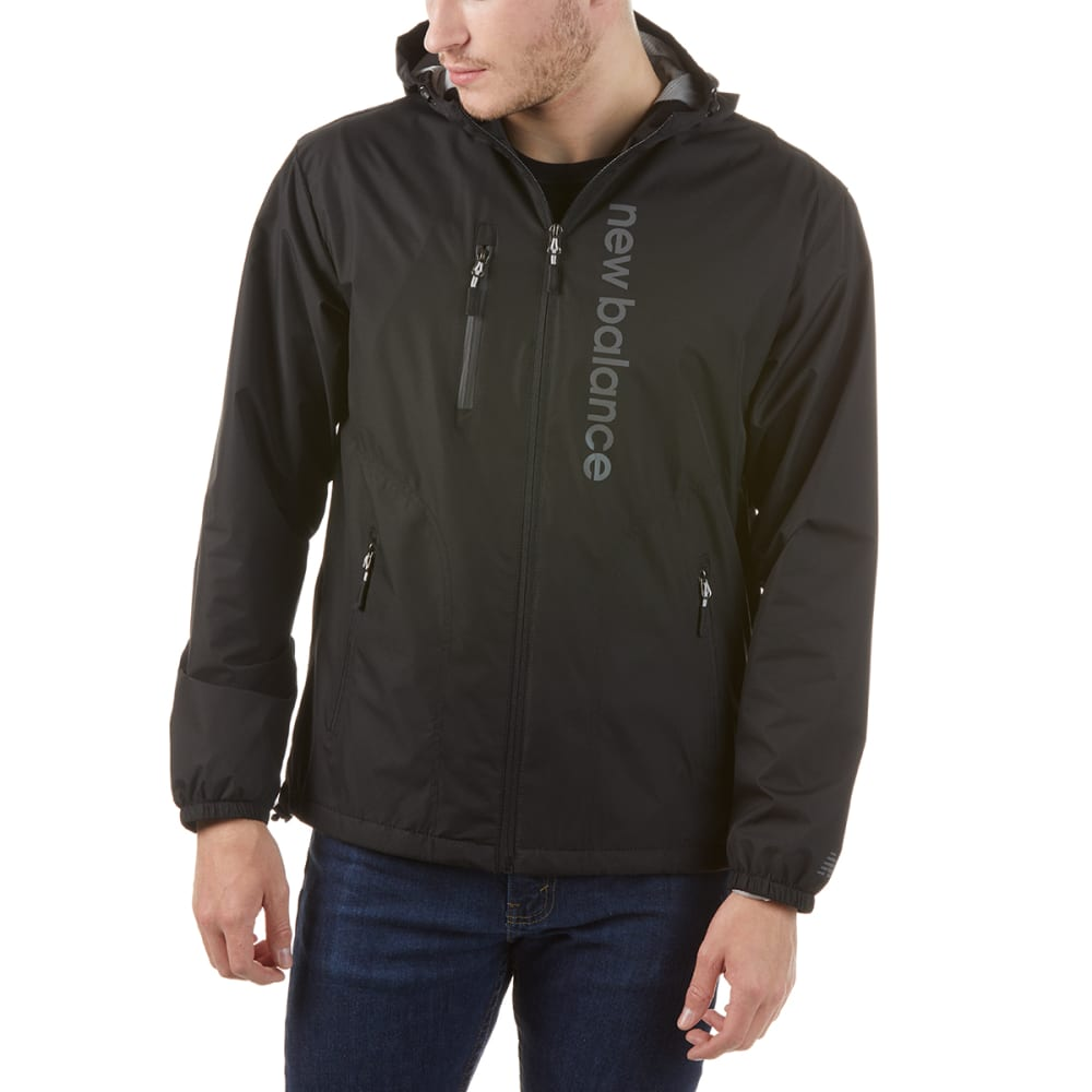NEW BALANCE Men's Poly Dobby Signature Jacket L