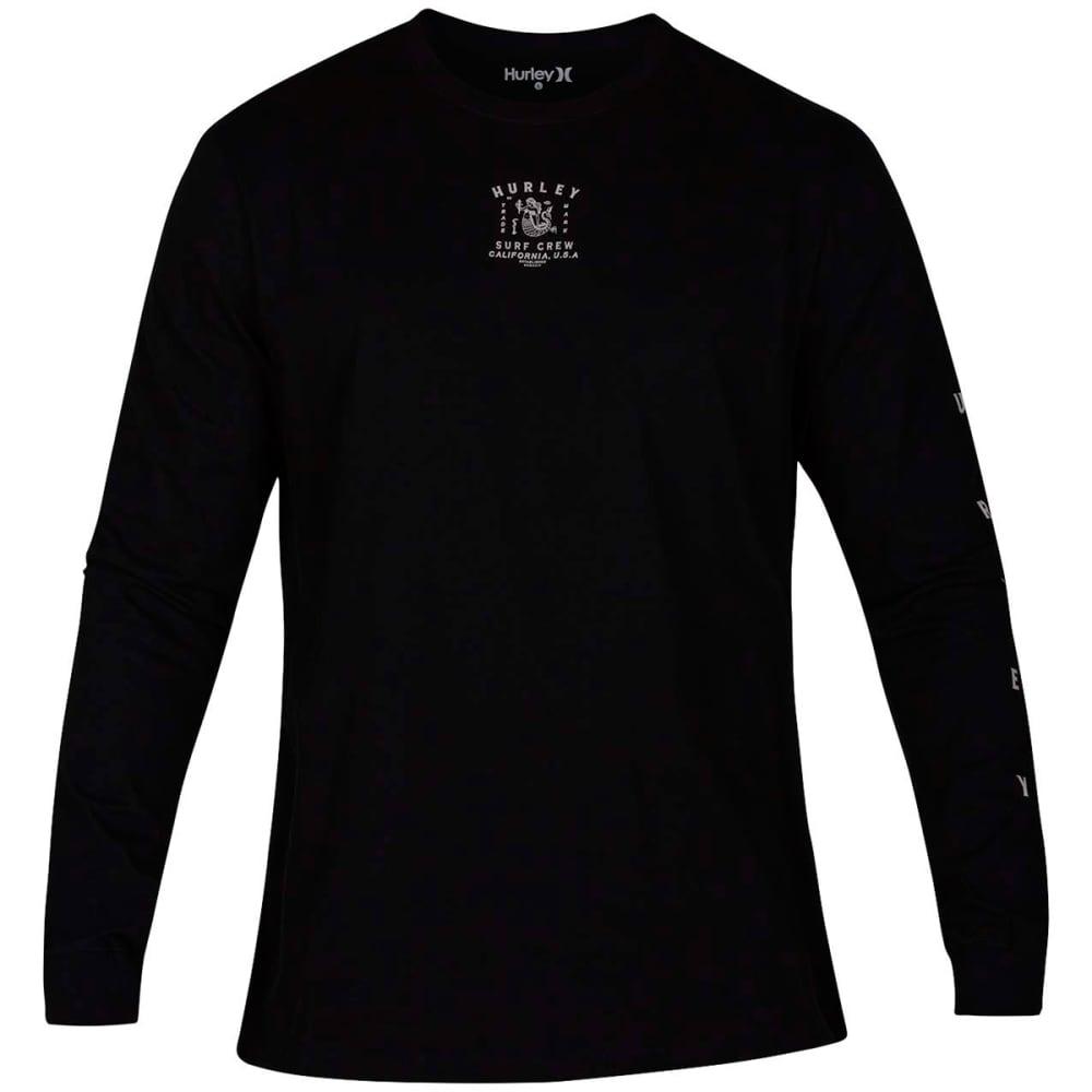 Hurley Men's Daggerfish Long-Sleeve Tee - Black, S