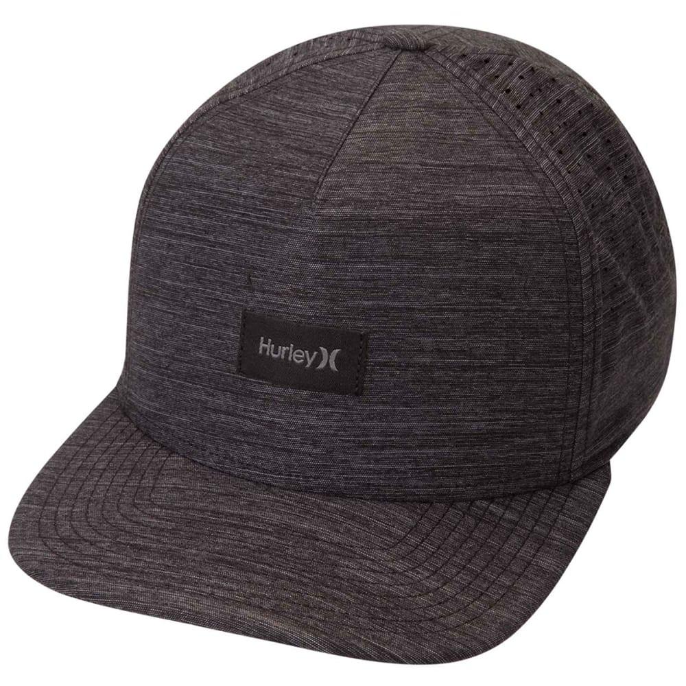 Hurley Young Men's Dri Fit Staple Hat - Black, ONESIZE