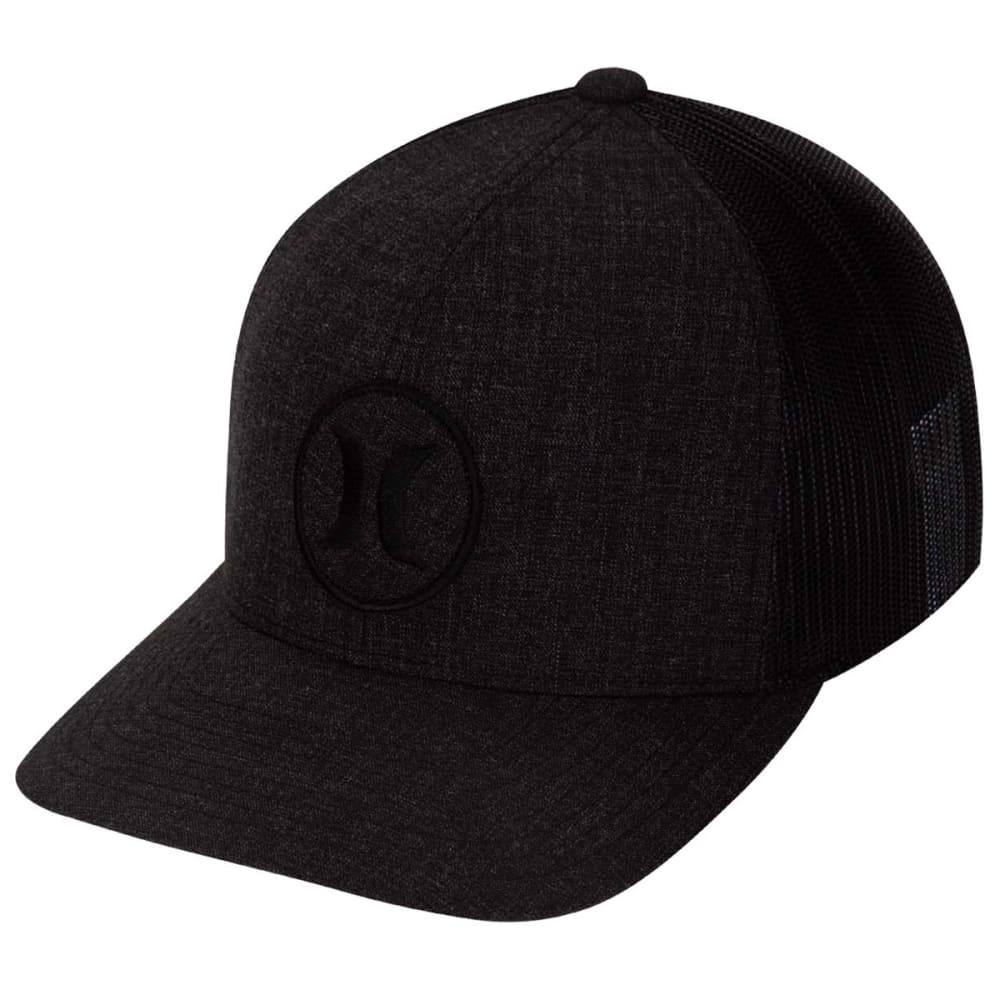 Hurley Young Men's Oceanside Trucker Hat - Black, ONESIZE