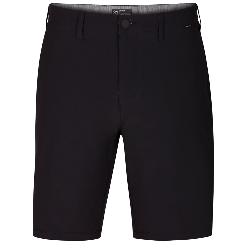 Hurley Men's Phantom Flex Hybrid Walking Shorts - Black, 30