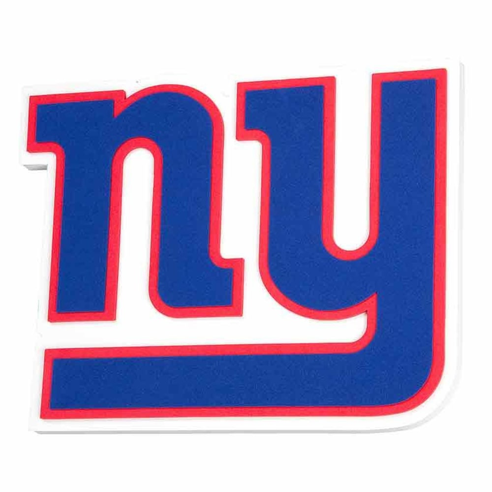 NEW YORK GIANTS 3D Foam Sign - NO COLOR