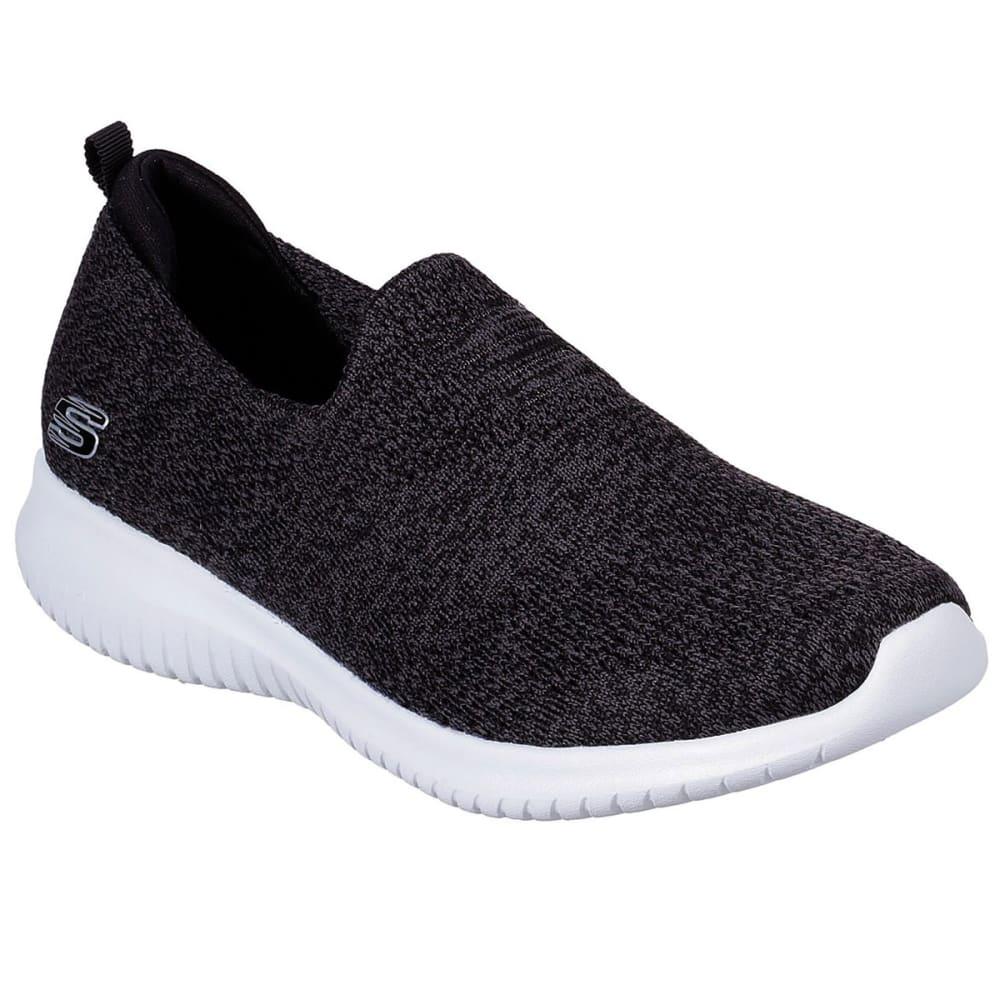 SKECHERS Women's Ultra Flex Harmonious Shoes - BKW-BLACK