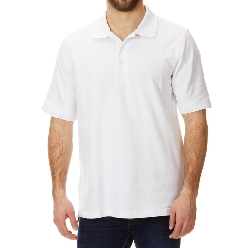 BCC KHAKI Men's Short-Sleeve Pique Polo M