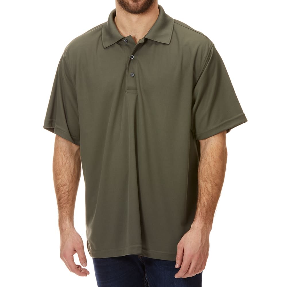 BCC Men's Performance Short-Sleeve Polo Shirt M