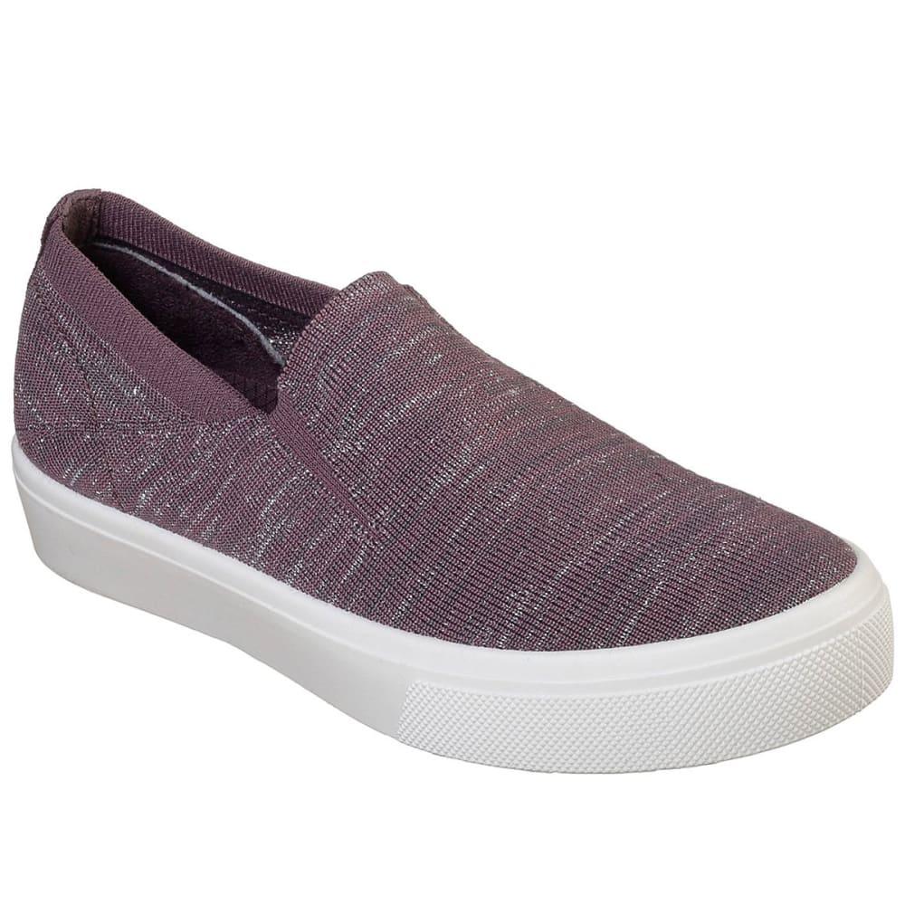 SKECHER Women's Street Poppy Cloud Dust Shoes - PUR-PURPLE