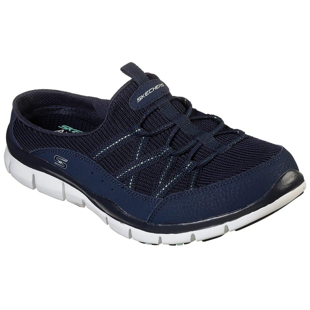 Skechers Women's Gratis Real Story Shoe - Blue, 6