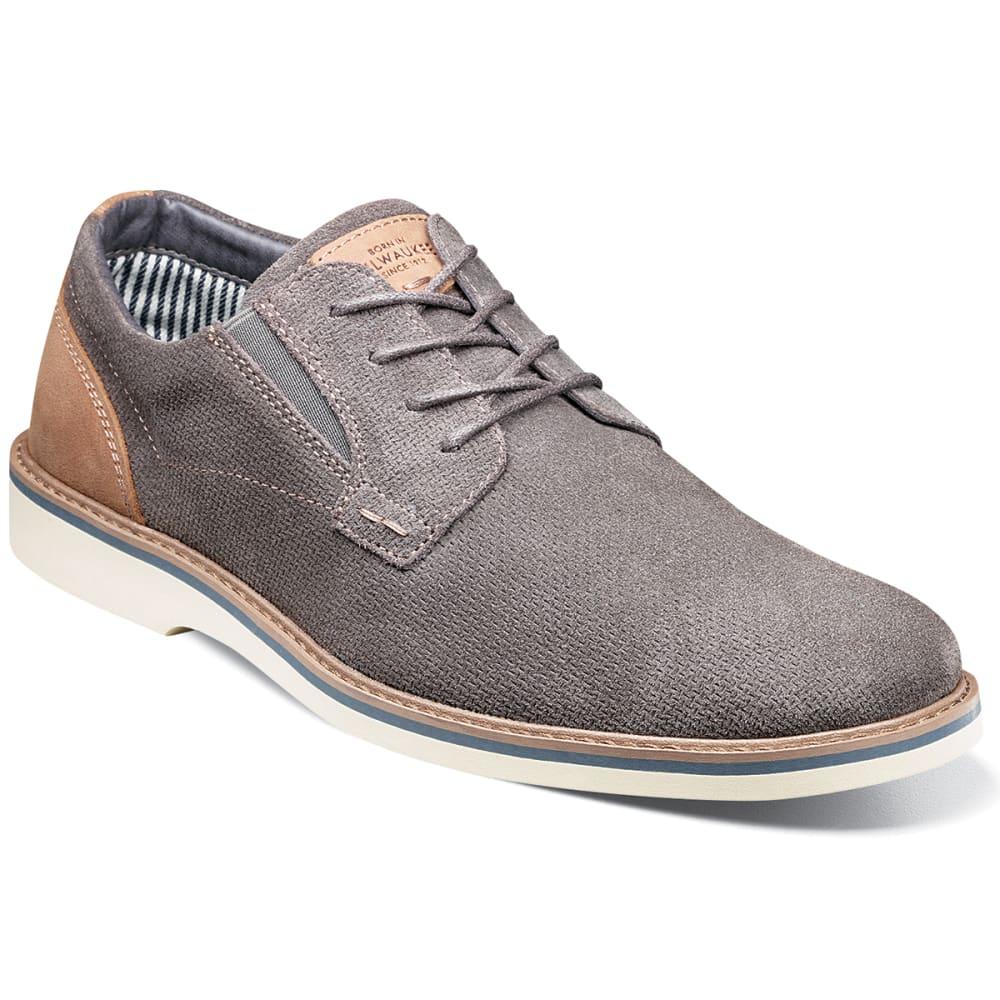 Nunn Bush Men's Barklay Plain Toe Casual Oxford Shoes - Black, 9