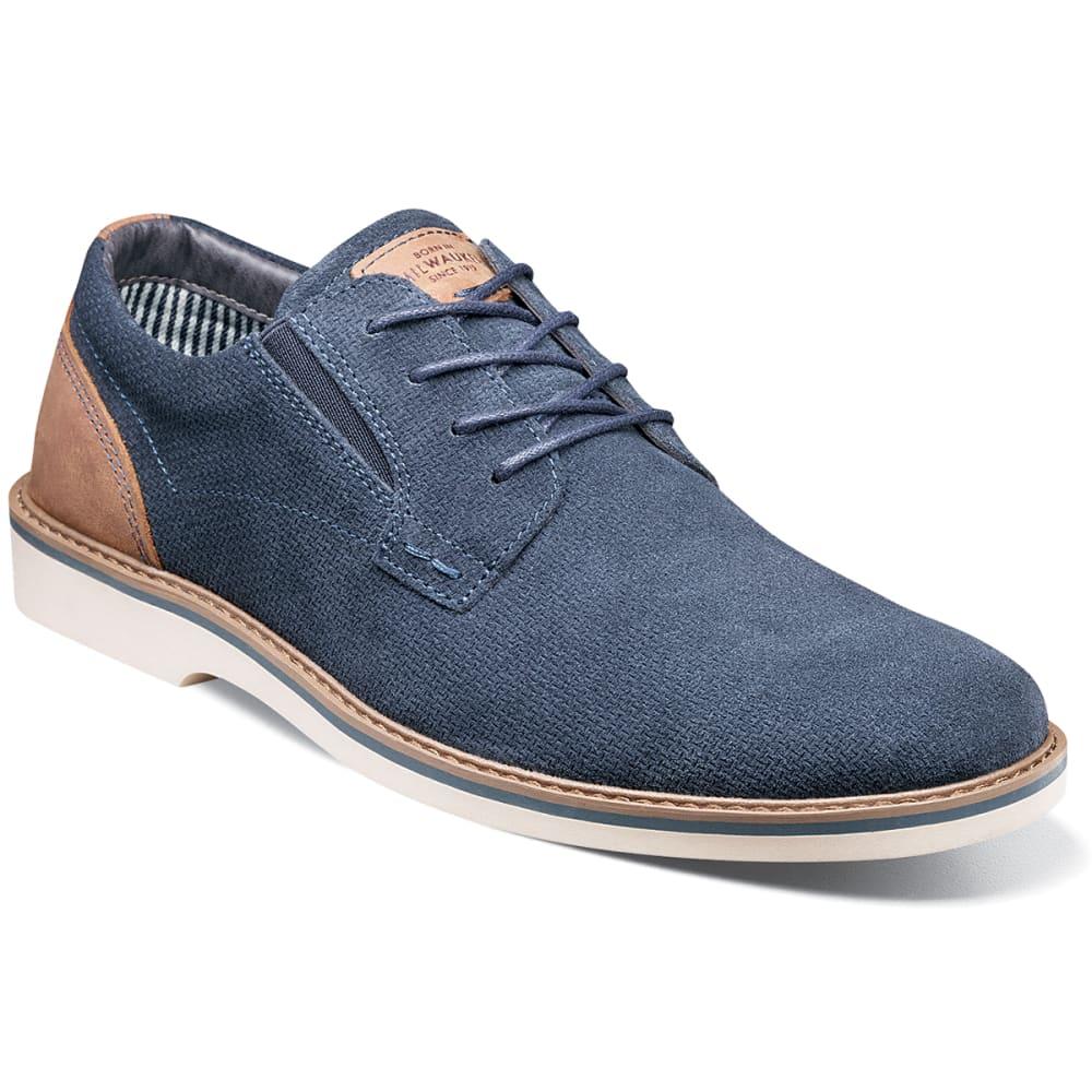 Nunn Bush Men's Barklay Plain Toe Oxford Shoes - Blue, 13