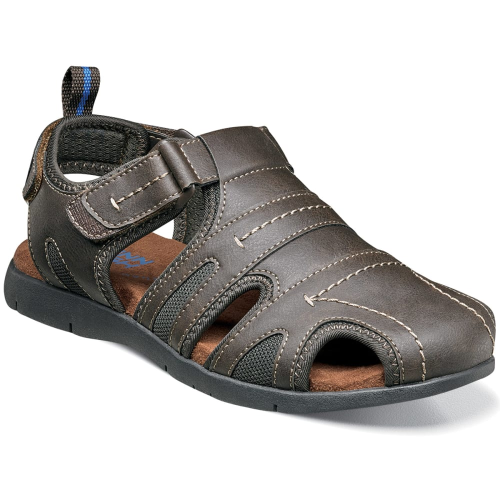 NUNN BUSH Men's Rio Grande Fisherman Sandal - BROWN