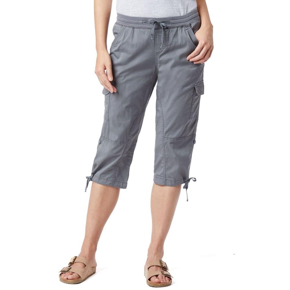 UNIONBAY Women's Devora Convertible Skimmer Crop Pants 8