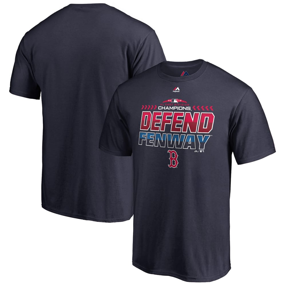 BOSTON RED SOX Men's 2018 AL East Division Champions Locker Room Short-Sleeve Tee - NAVY