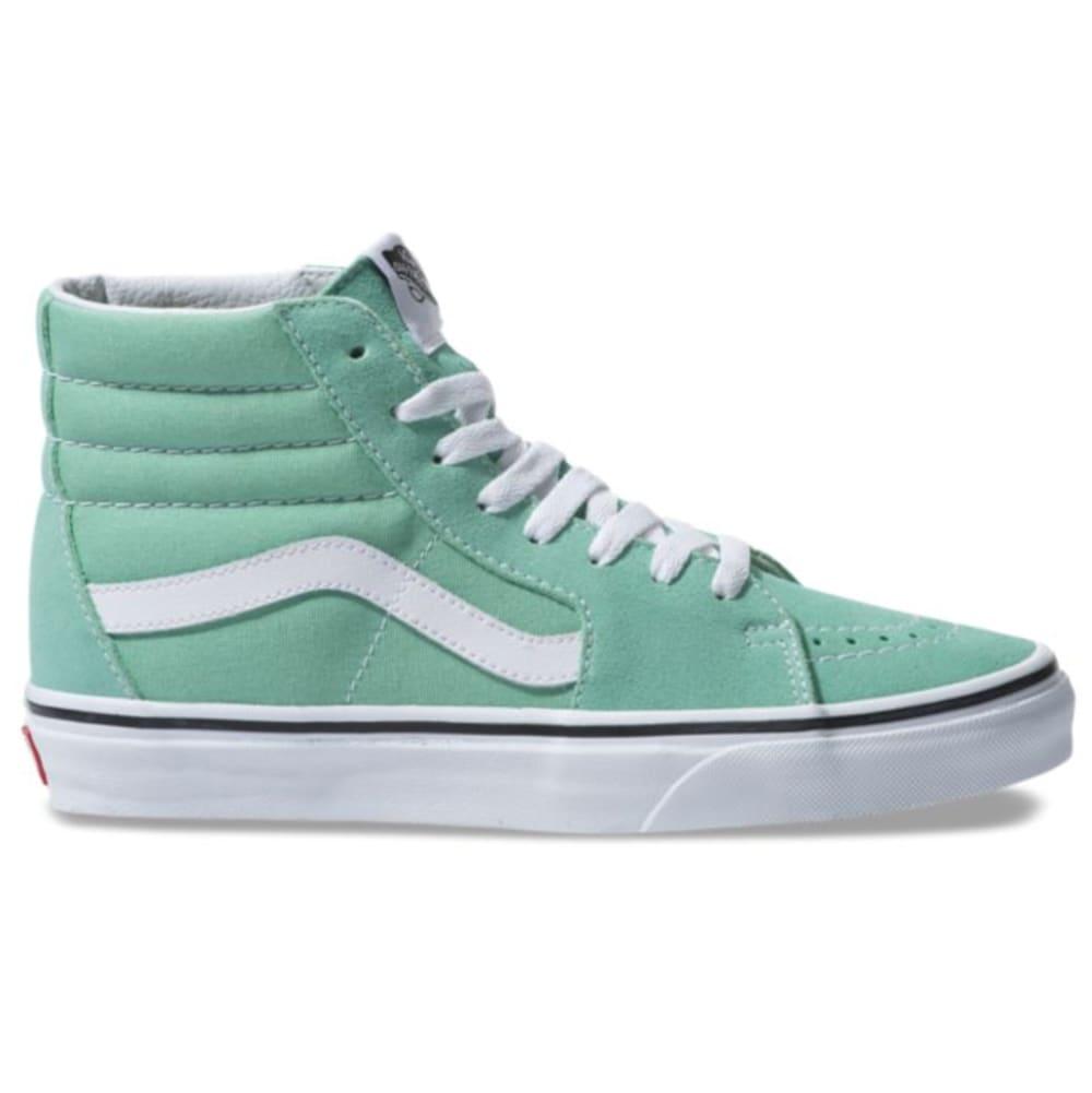 VANS Unisex SK8-Hi Shoes - NEPTUNE GREEN/WHITE