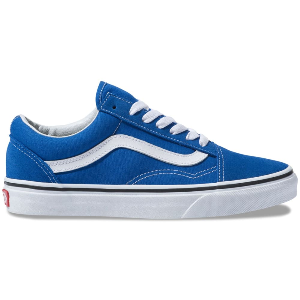 Vans Unisex Old Skool Sneakers - Blue, 10