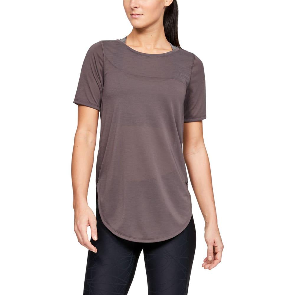 UNDER ARMOUR Women's Whisperlight Short-Sleeve Shirt M