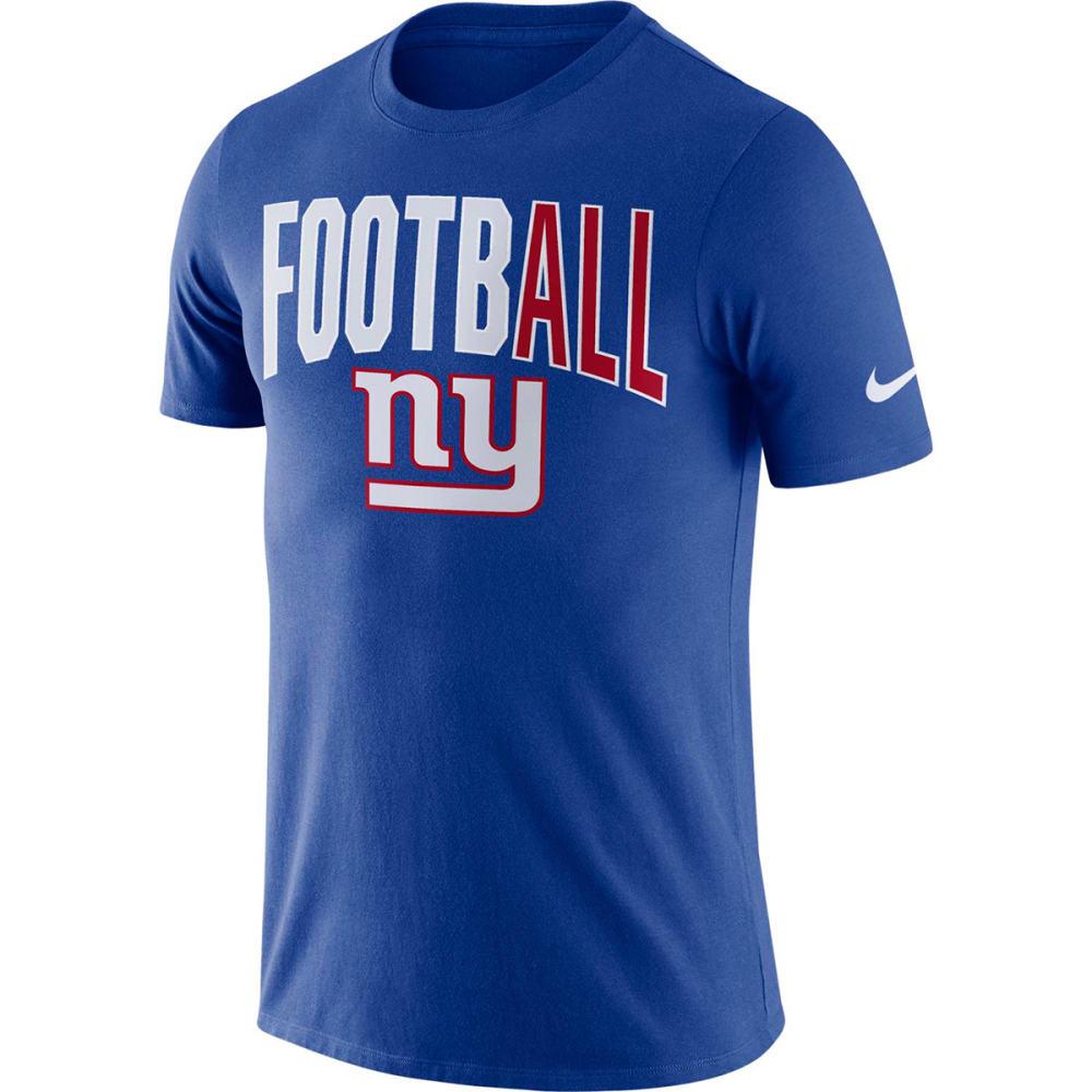 NEW YORK GIANTS Men's Nike Dri-FIT Short-Sleeve Tee XL