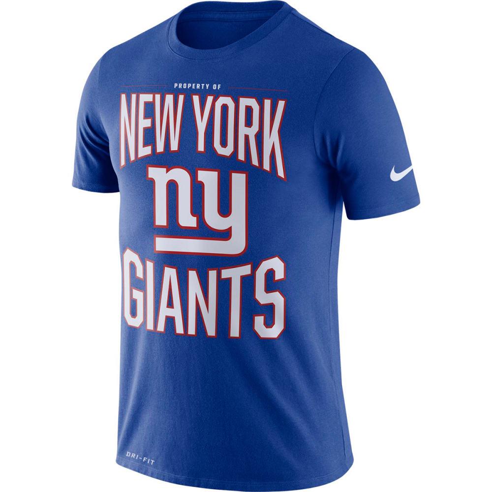 NEW YORK GIANTS Men's Nike Property Of Short-Sleeve Tee M