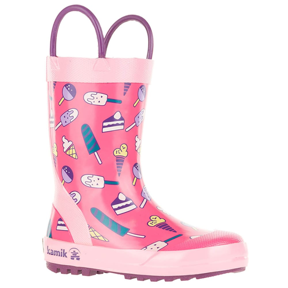KAMIK Girls' Rain Boots - PINK-PNK