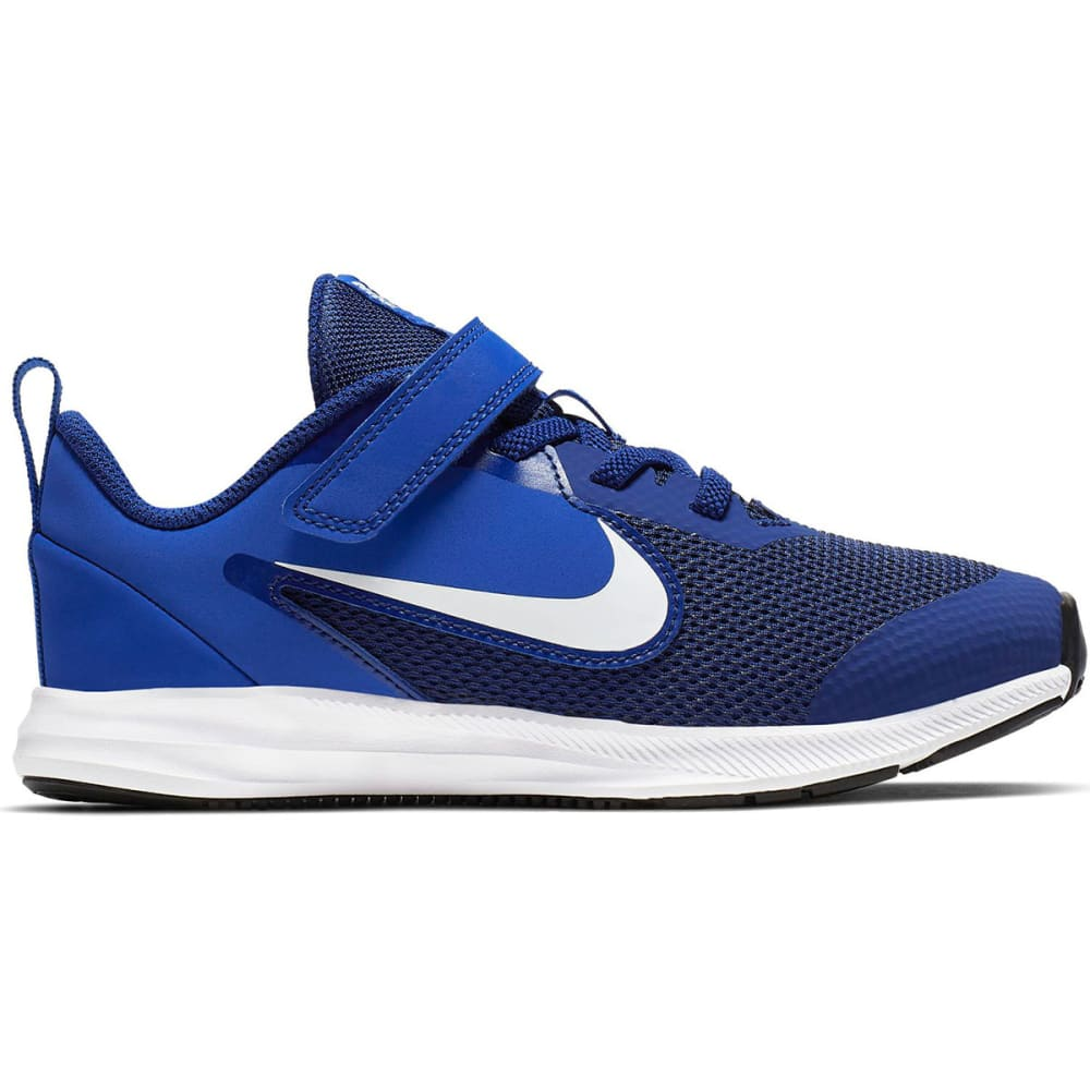 NIKE Boys' Downshifter 9 Running Shoes, Wide 1