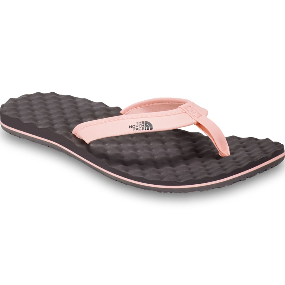 THE NORTH FACE Women's Base Camp Mini Flip Flop - AS8-RABBIT GREY
