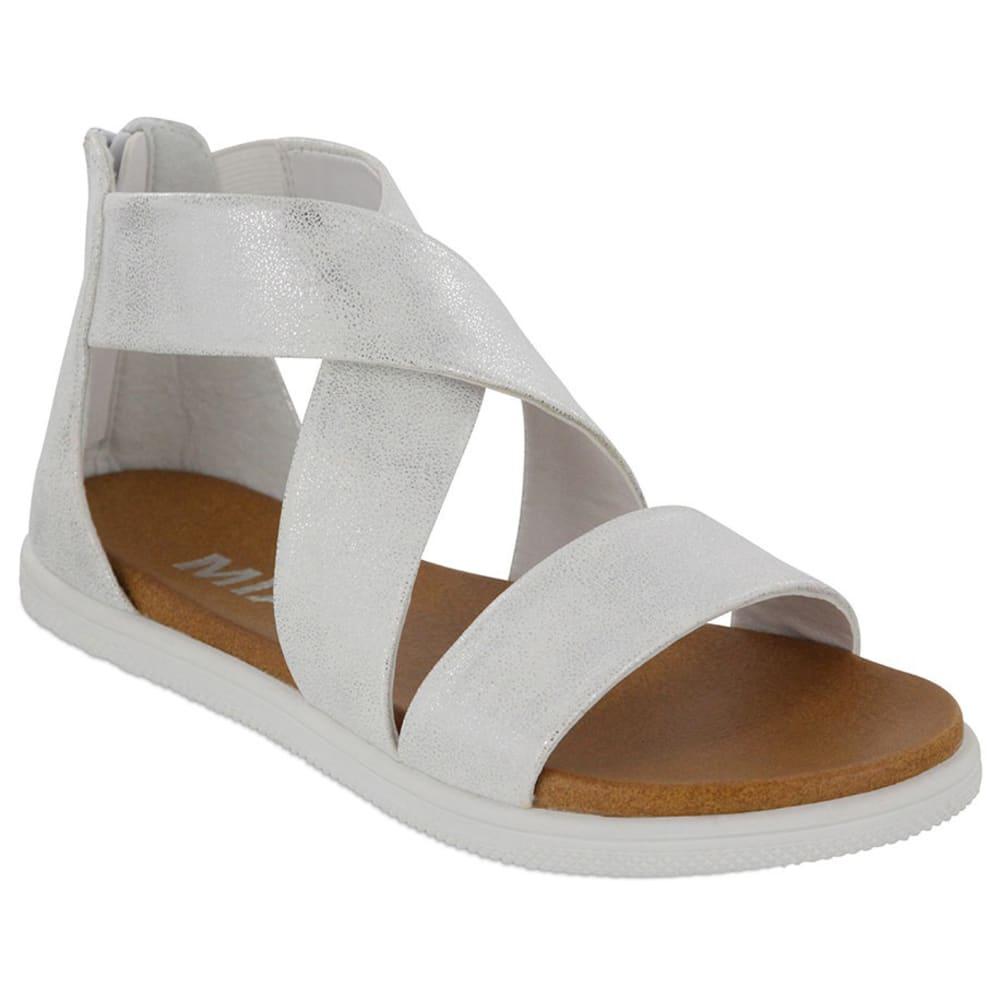 MIA Girls' Patty Low Sneaker Bottom Sandals 1