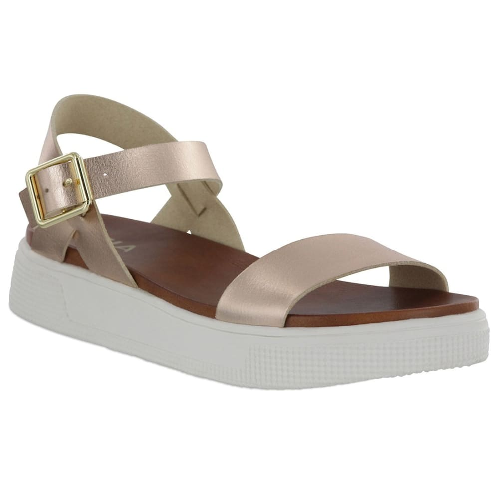 MIA Women's Abby Quarter Strap Sandals - ROSE GOLD
