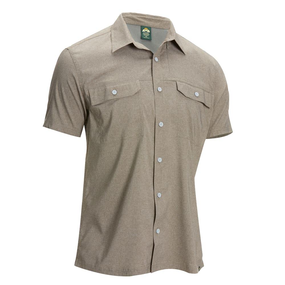 Ems Men's Ventilator Short-Sleeve Shirt - Brown, S